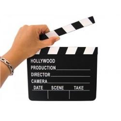 Clap de directeur Cinéma Stars décoration festival de Cannes