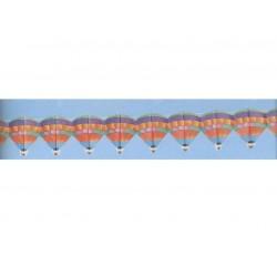 Guirlande montgolfières Ballons avec nacelle