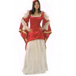 Princesse écarlate Moyen Age