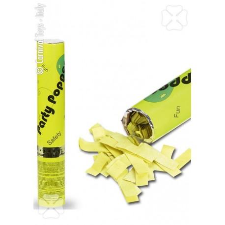 canon-a-confettis-papier-de-soie-jaune