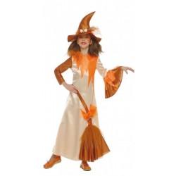 Costume de sorcière fille 7/9 ans 128 cm