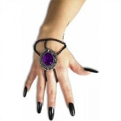 chaine-de-poignet-avec-medaillon-gothique