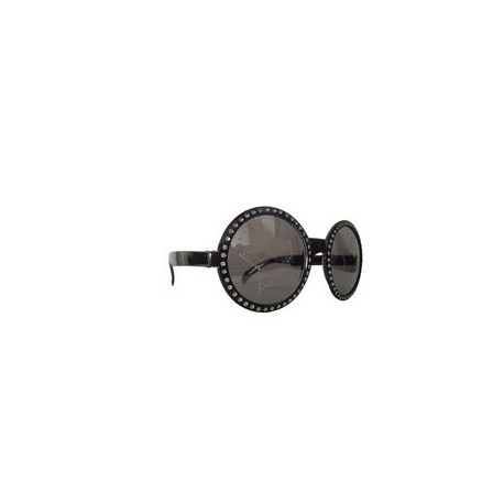 lunettes-rondes-noires-petits-strass-avec-etoiles