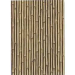 Décoration de mur exotique Paillote en bambous