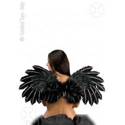 paire-d-ailes-noires-en-plumes-traits-de-paillettes-argentees