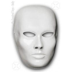 Masque neutre homme blanc à décorer