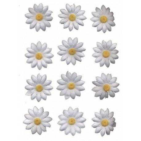 30-marguerites-petales-en-tissu-blanc-coeur-jaune