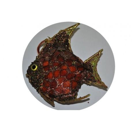 poisson-perle-marron-et-or-decoration