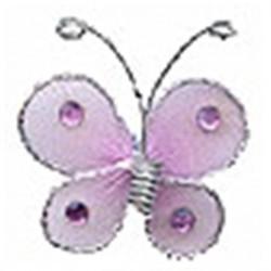 sachet-de-12-petits-papillons-rose-et-argent-autocollants