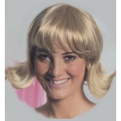 Perruque blonde Judy année 1960