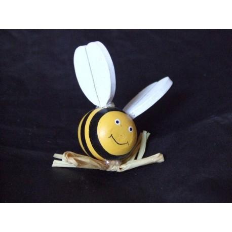 1-abeille-jaune-et-noire-en-bois-peint