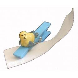 1-pince-a-linge-bleue-bebe-phoque-jaune