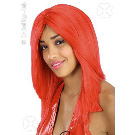 perruque-rouge-cheveux-raides-sans-frange
