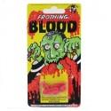 Gélule de faux sang par 4 capsules sanglantes faux sang pour vampire