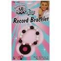 Bracelet disque record année 50 rock