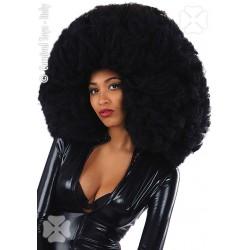 Perruque afro noire géante 60 cm
