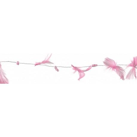 guirlande-rose-pale-plumes-et-perles-2-metres