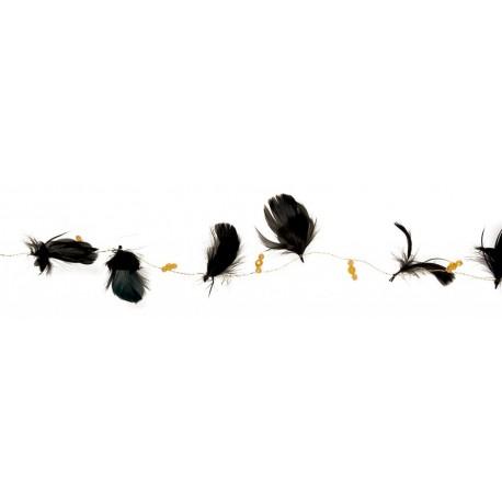 guirlande-noire-plumes-et-perles-2-metres