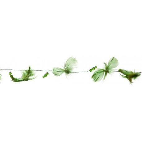 guirlande-vert-empire-plumes-et-perles-2-metres