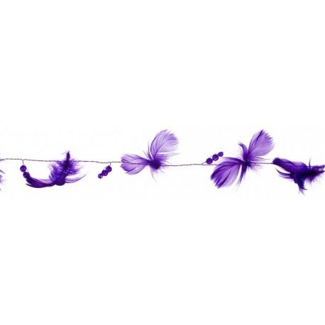 guirlande-violette-plumes-et-perles-2-metres