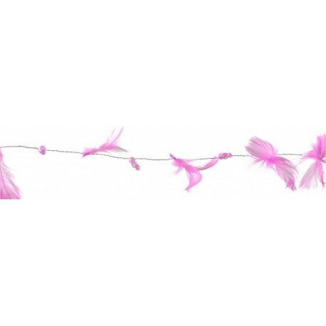 guirlande-rose-cyclamen-plumes-et-perles-2-metres