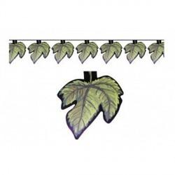 Guirlande feuilles de vigne Fête du vin 5 mètres