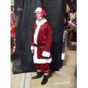 Père Noël américain bordeaux pantalon