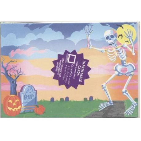 8-cartes-d-invitation-8-enveloppes-halloween-squelette-et-tombe
