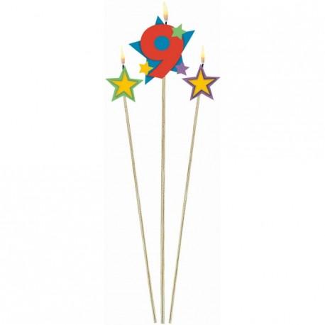 bougie-chiffre-9-sur-pique-avec-bougies-etoile