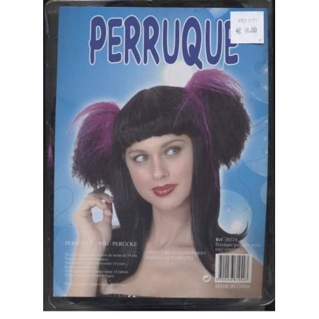 perruque-femme-couettes-violettes-et-frange-gothique-noire