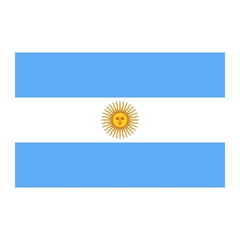 Drapeau Argentine En Tissu 90cm X 150 Cm Festi Fiesta