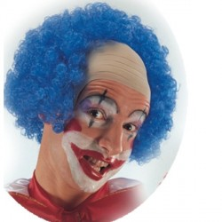 perruque-tonsure-de-clown-bleue