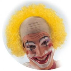 perruque-tonsure-de-clown-jaune