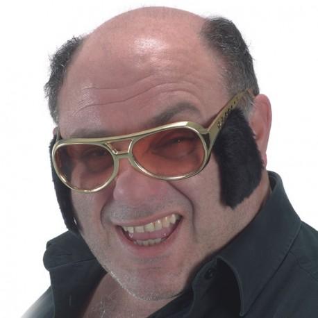 lunettes-dorees-facon-rocker-avec-pattes-rouflaquettes