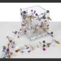 Guirlande électrique Pop'art multicolore
