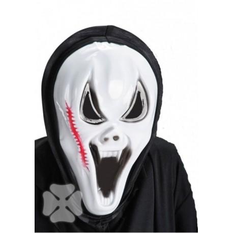 masque-monstre-blanc-avec-scolopendre-capuche-noire