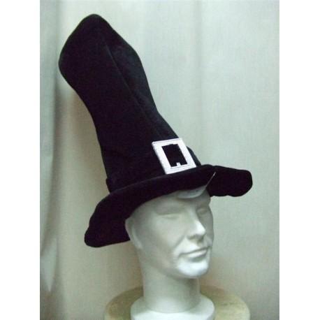 chapeau-tres-haut-de-forme-en-velours-noir