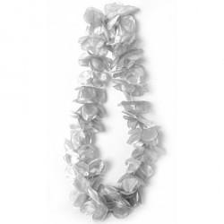 collier-hawaien-fleurs-argentees