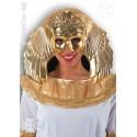 Masque égyptienne or et violet Cléopâtre pharaonne
