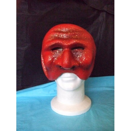 demi-masque-venitien-commedia-dell-arte-matamore-rouge-et-or