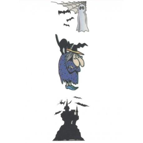 3-tatouages-temporaires-motifs-fantome-sorciere-et-chateau