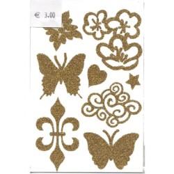 1-plaque-8-tatouages-temporaires-pour-cheveux-or-motif-nuage