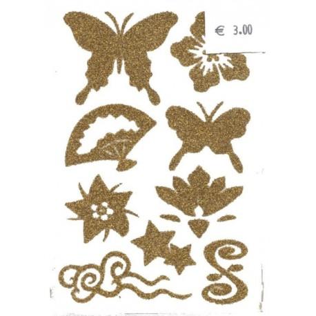 1-plaque-9-tatouages-temporaires-pour-cheveux-or-motif-eventail