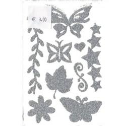 1-plaque-9-tatouages-temporaires-pour-cheveux-motifs-papillons