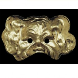 demi-masque-chien-or
