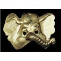 Demi-masque éléphant or