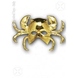 demi-masque-crabe-dore