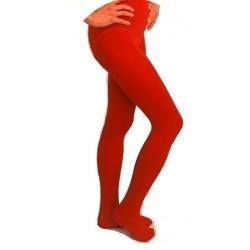 Collants opaques rouges 10/12 ans 140/152 cm
