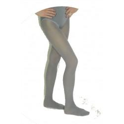Collants opaques gris XXXL 48/54