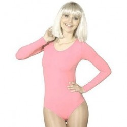 Body justaucorps rose taille XXXL 48/52